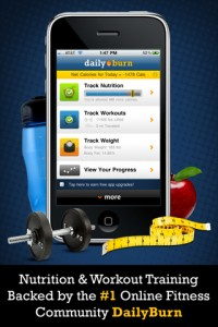 iPhone App for Daily Burn