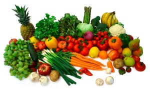 Bunches of Healthy Food