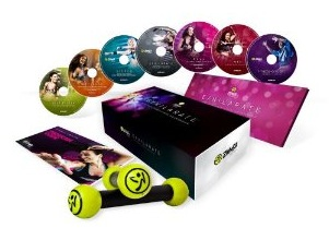 The DVD Set for Zumba Exhilarate