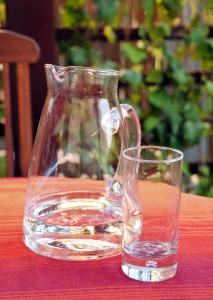 Glass of Water and Jug