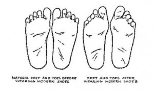Feet and Their Natural Shape