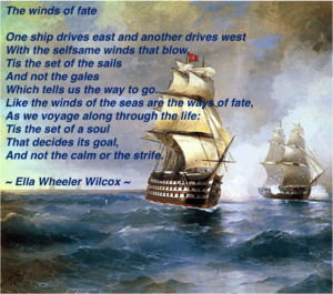 The winds of fate - Ella Wheeler Wilcox